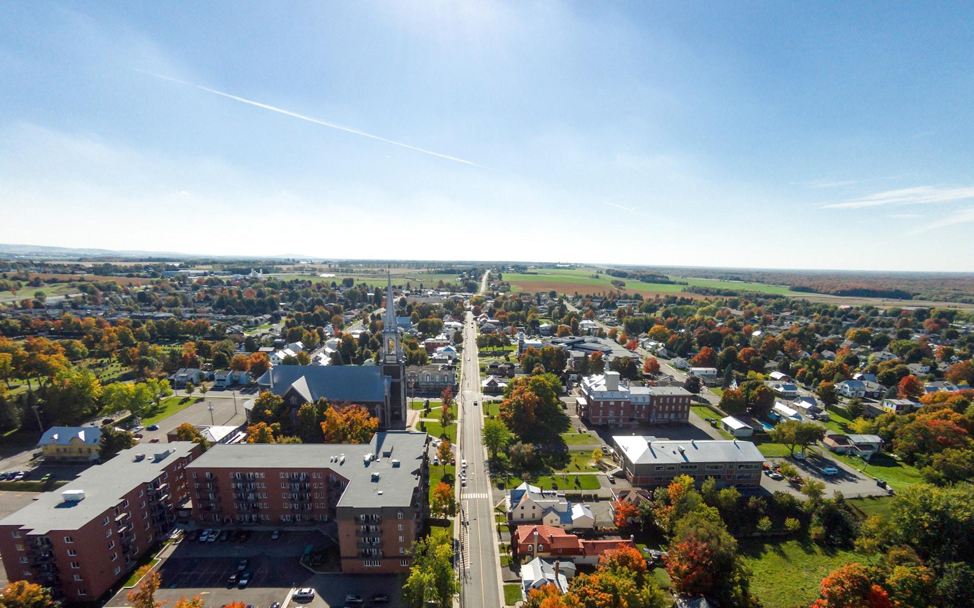 ville magnifique plessisville