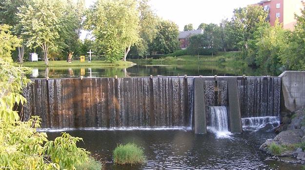 chute plessisville